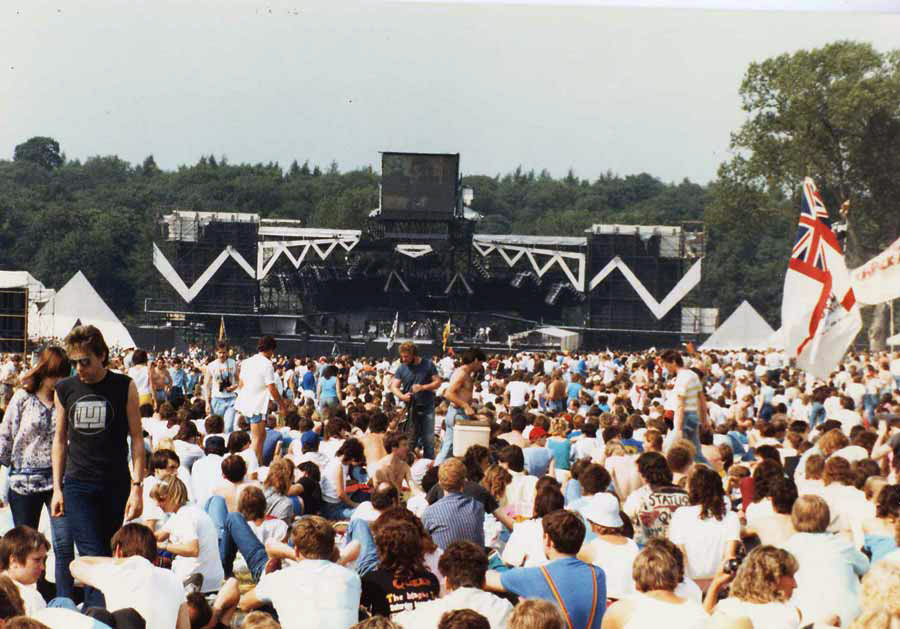 Queen - Knebworth Park '86