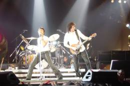 Concert photo: Queen + Paul Rodgers live at the Palau Sant Jordi, Barcelona, Spain [02.04.2005]