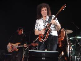 Concert photo: Queen + Paul Rodgers live at the Arena, Leipzig, Germany [17.04.2005]