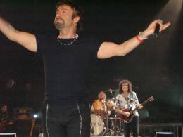 Concert photo: Queen + Paul Rodgers live at the Westfalenhalle, Dortmund, Germany [25.04.2005]