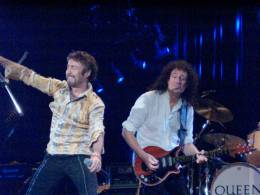 Concert photo: Queen + Paul Rodgers live at the Ahoy Hall, Rotterdam, The Netherlands [26.04.2005]