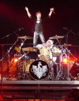 Concert photo: Queen + Paul Rodgers live at the Globen, Stockholm, Sweden [30.04.2005]