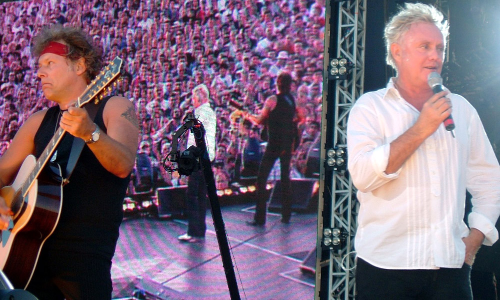 Photo: 15.07.2005 - Queen + Paul Rodgers live at the Hyde Park, London, UK