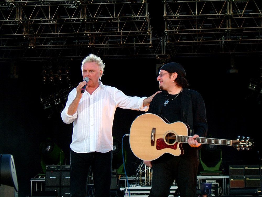 Photo: 15.07.2005 - Queen + Paul Rodgers live in Hyde Park, London, UK