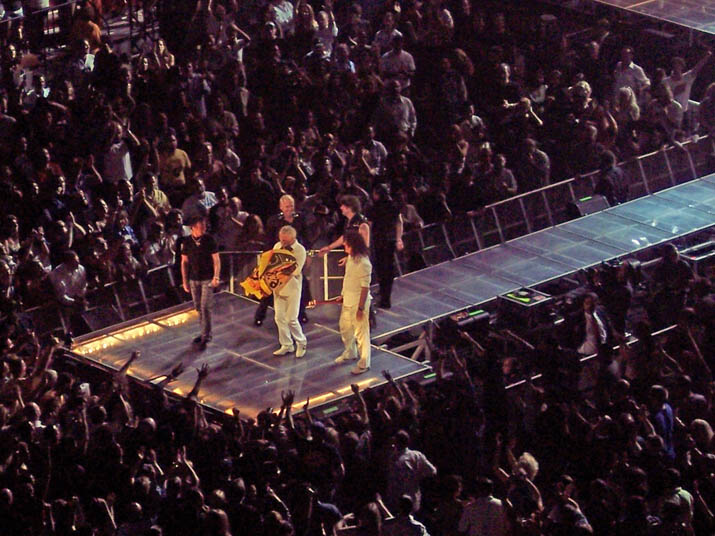 QUEEN CONCERTS - Photo: 03.03.2006 - Queen + Paul Rodgers ...