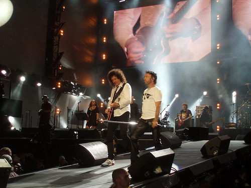 27.06.2008 - Guest appearance: Queen   Paul Rodgers in Hyde Park, London, UK (46664 - Nelson Mandela 90th birthday)
