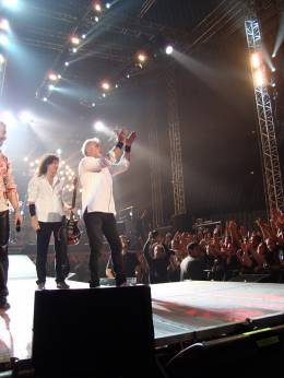 Concert photo: Queen + Paul Rodgers live at the Palalottomatica, Rome, Italy [26.09.2008]
