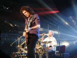 Concert photo: Queen + Paul Rodgers live at the Arena, Nottingham, UK [10.10.2008]