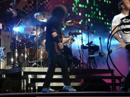 Concert photo: Queen + Paul Rodgers live at the MEN Arena, Manchester, UK [05.11.2008]
