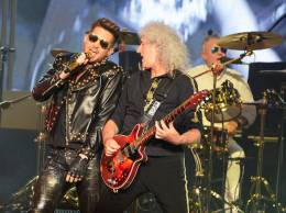 Concert photo: Queen + Adam Lambert live at the The Joint, Las Vegas, NV, USA [05.07.2014]