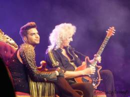 Concert photo: Queen + Adam Lambert live at the Palace of Auburn Hills, Auburn Hills, MI, USA [12.07.2014]