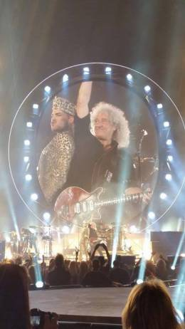 Concert photo: Queen + Adam Lambert live at the Wells Fargo Center, Philadelphia, Pennsylvania, USA [16.07.2014]