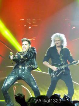 Concert photo: Queen + Adam Lambert live at the Mohegan Sun Arena, Uncasville, CT, USA [19.07.2014]