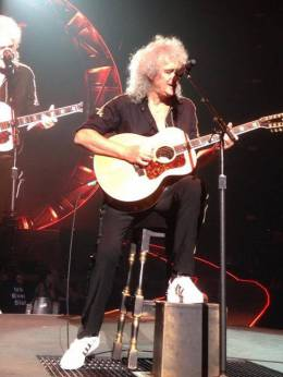 Concert photo: Queen + Adam Lambert live at the IZOD Center, East Rutherford, NJ, USA [23.07.2014]