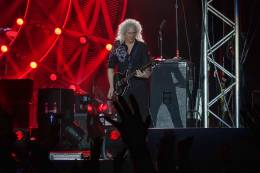 Concert photo: Queen + Adam Lambert live at the Steel City Festival, Linz, Austria [25.05.2016]