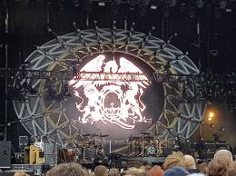 Concert photo: Queen + Adam Lambert live at the Music Festival, Jelling, Denmark [29.05.2016]