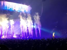 Concert photo: Queen + Adam Lambert live at the Barclaycard Arena, Hamburg, Germany [20.06.2018]