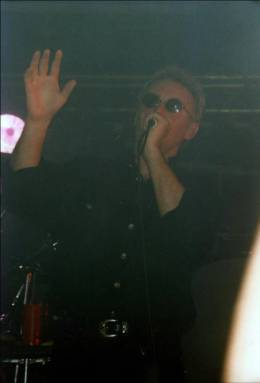 Concert photo: Roger Taylor live at the Riverside, Newcastle, UK [23.11.1994]