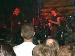 Concert photo: Roger Taylor live at the Manchester University, Manchester, UK [20.03.1999]