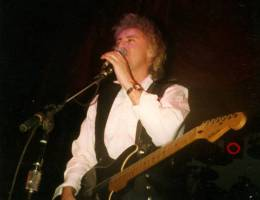 Concert photo: The Cross live at the The Mayfair, Newcastle, UK [28.02.1988]