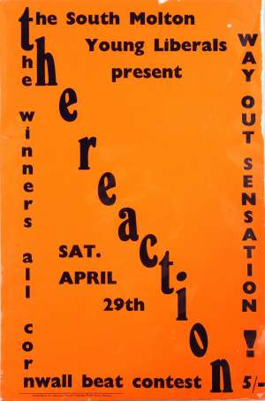 Poster - The Reaction in Hayle in April 1967