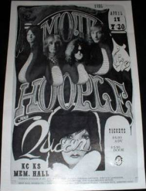 Poster - Queen in Kansas City on 17.04.1974
