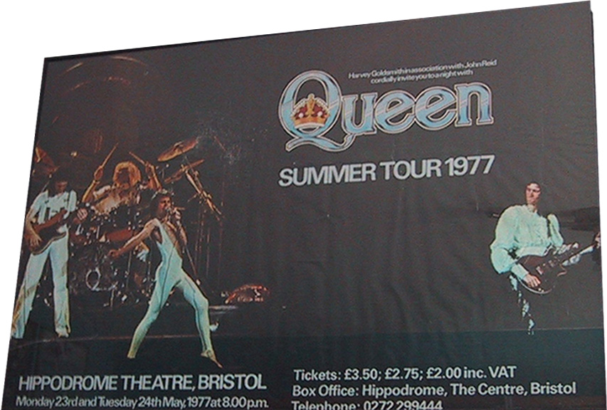 Queen in Bristol on 23.05.1977
