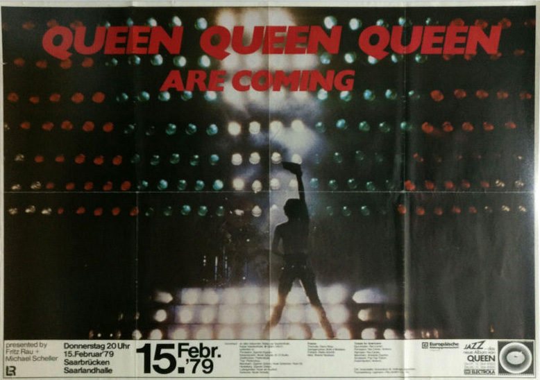 Queen in Saarbrucken on 15.02.1979