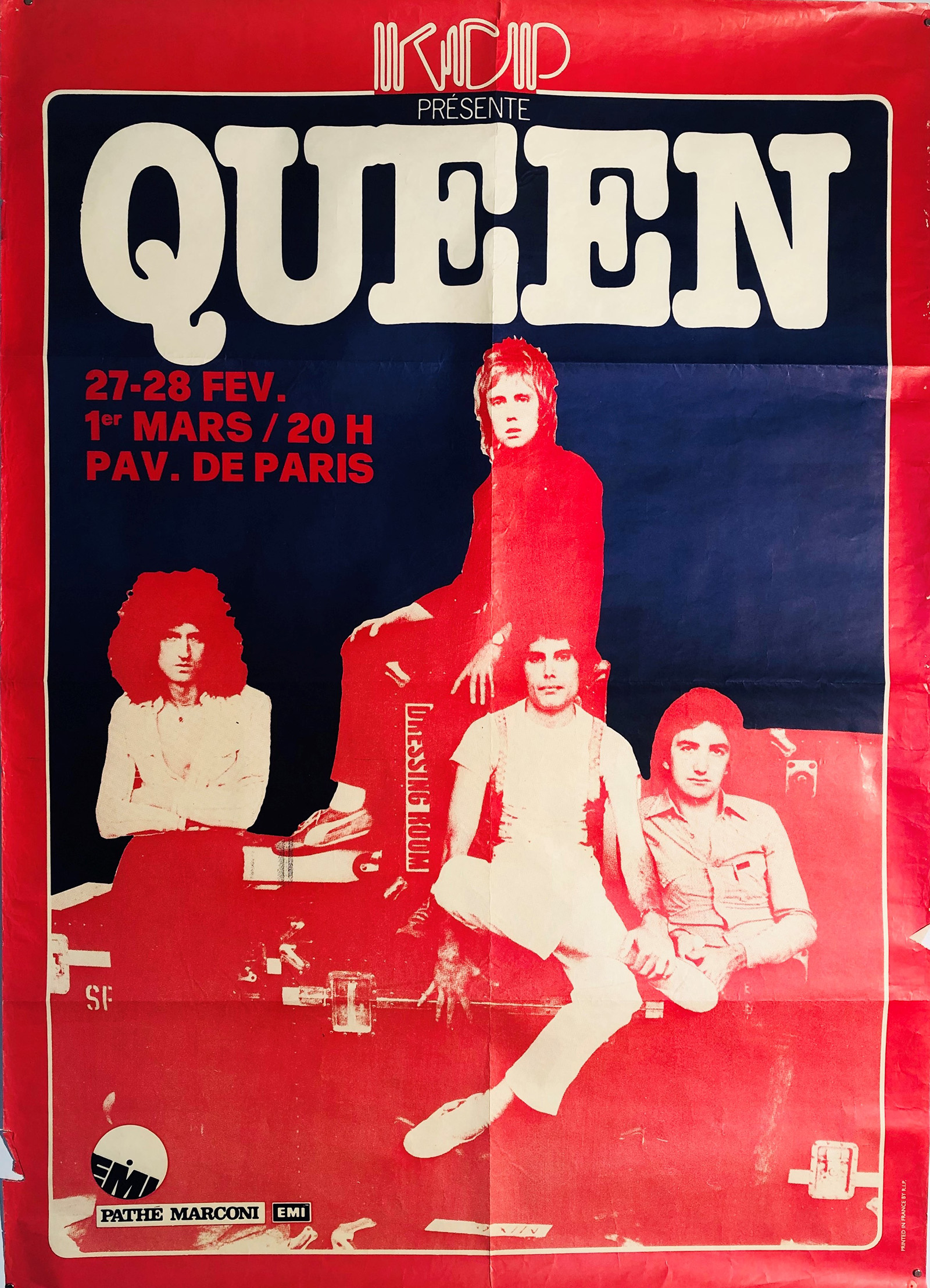 Queen in Paris 1979