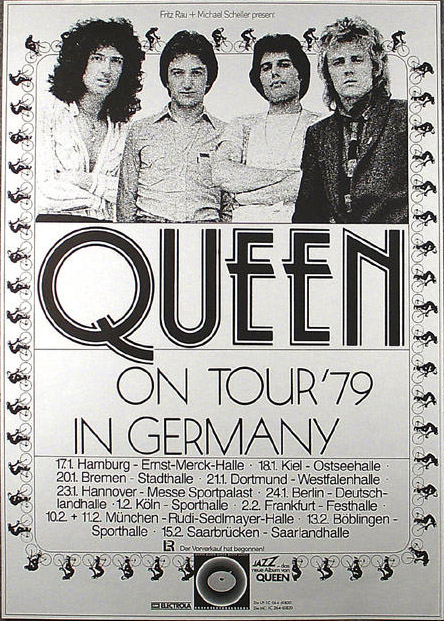 Queen in Germany 1979 (Live Killers tour)