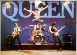 Poster - Queen in Germany in November and December 1980