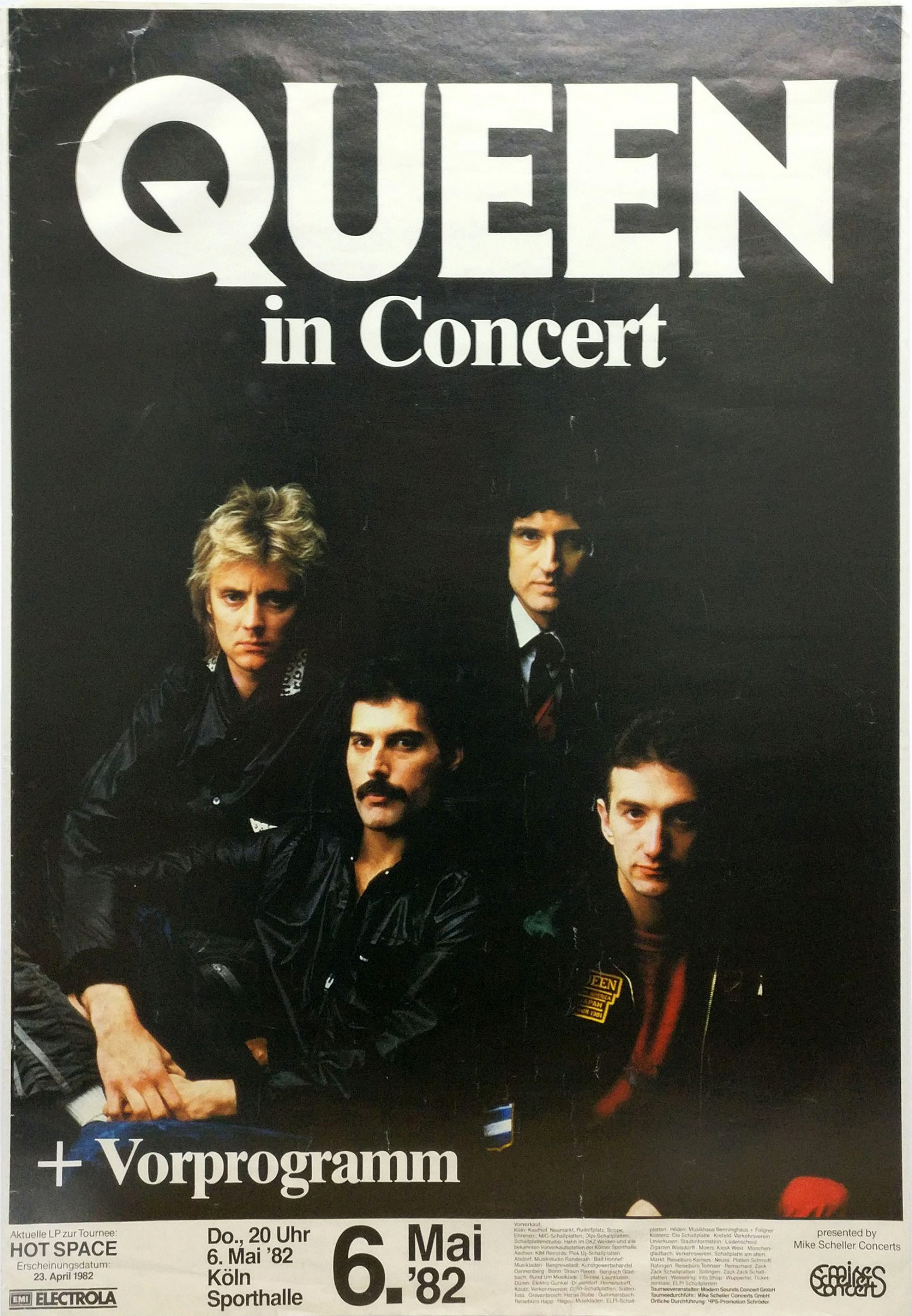 Queen in Cologne on 06.05.1982