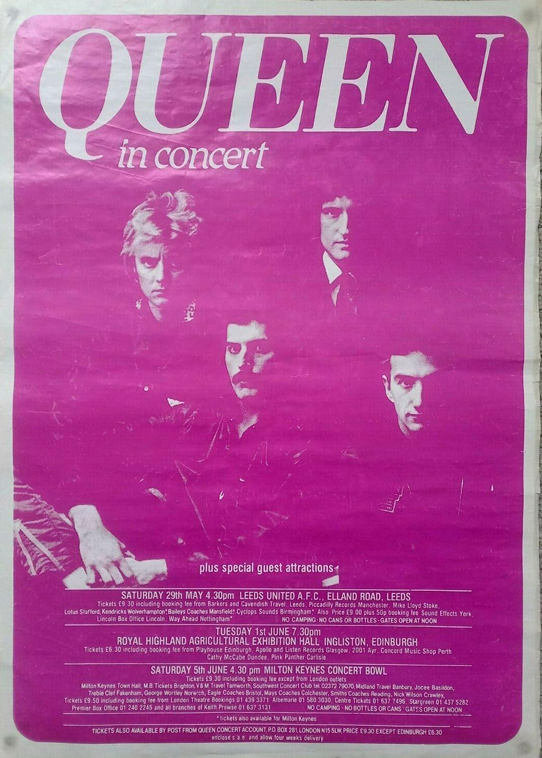 Queen in the UK in 1982