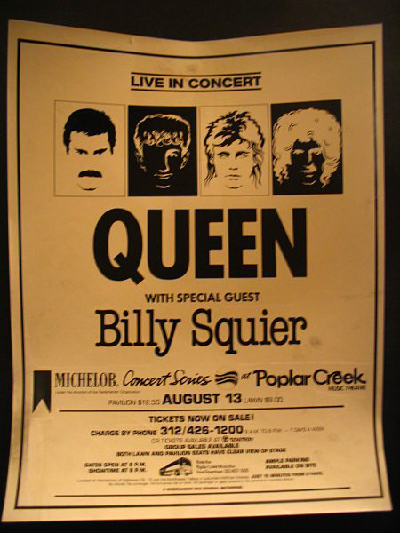 Queen in Chicago on 13.08.1982