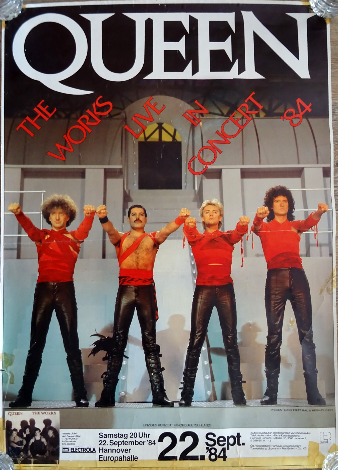 Queen in Hannover on 22.09.1984