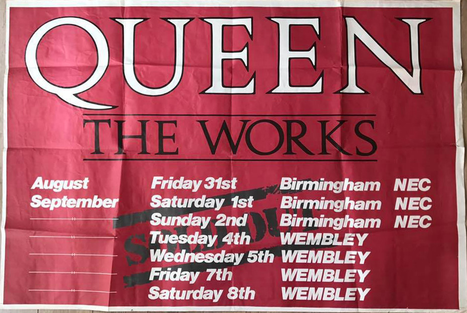 UK leg of the Works tour