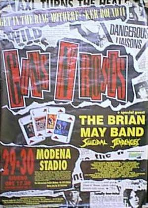Poster - Brian May in Modena on 29.-30.06.1993