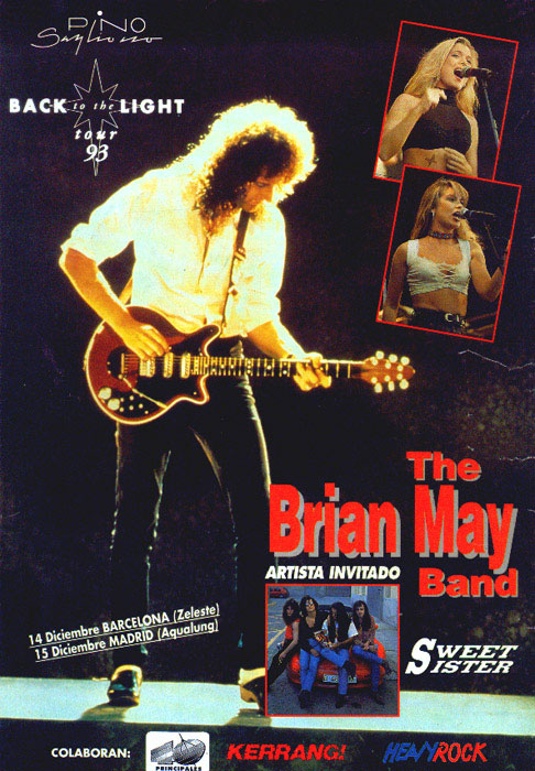 Brian May in Spain on 14.-15.12.1993