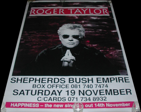 Roger Taylor in London on 19.11.1994