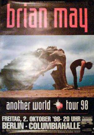 Poster - Brian May in Berlin on 02.10.1998