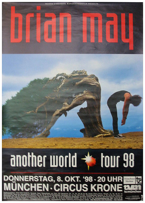 Brian May in Munich on 08.10.1998