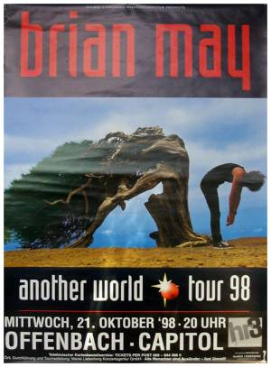 Poster - Brian May in Offenbach on 21.10.1998
