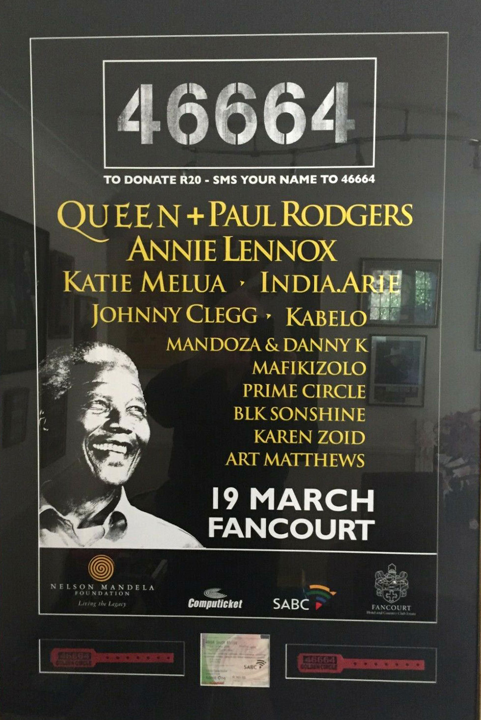 46664 poster - Fancourt, George, South Africa