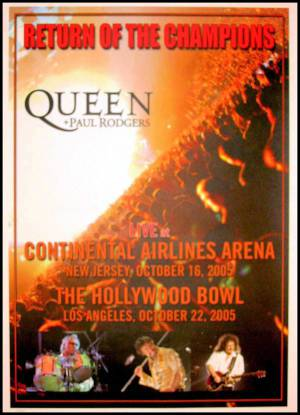Poster - Queen + Paul Rodgers in the USA in 2005