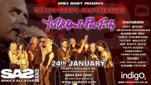 Poster - Roger Taylor with SAS Band in London on 24.01.2009