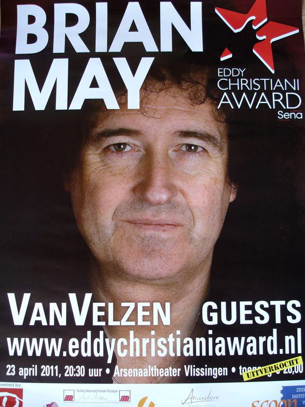 Brian May in Vlissingen on 23.04.2011