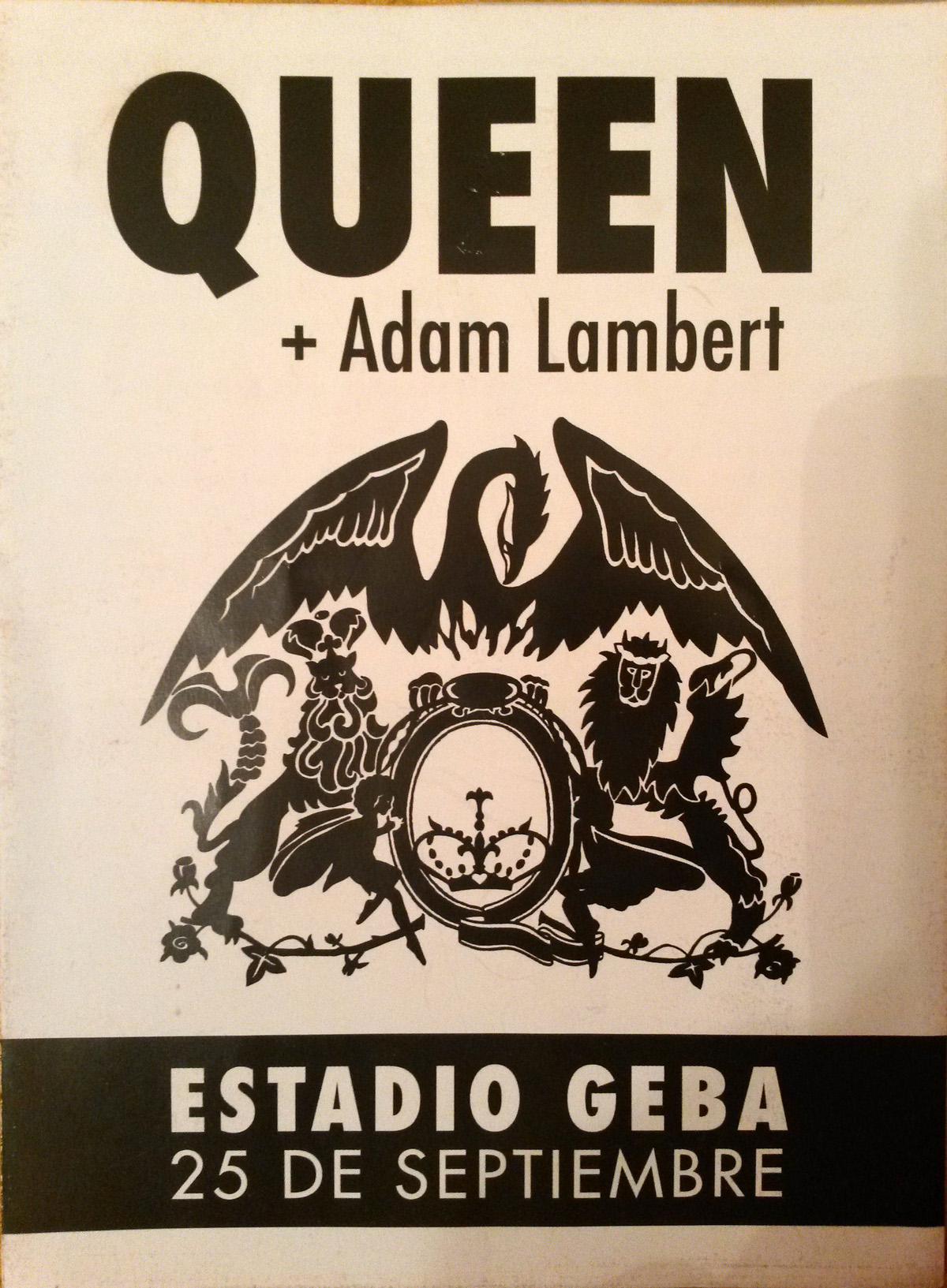 Queen + Adam Lambert in Buenos Aires on 25.09.2015