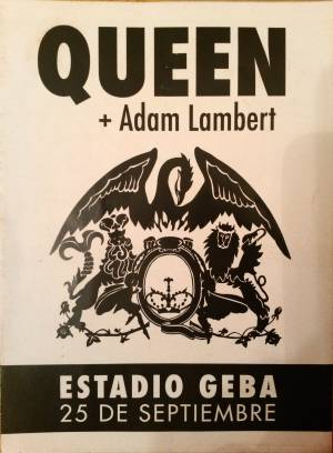Poster - Queen + Adam Lambert in Buenos Aires on 25.09.2015