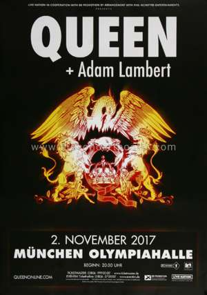 Poster - Queen + Adam Lambert in Munich on 02.11.2017