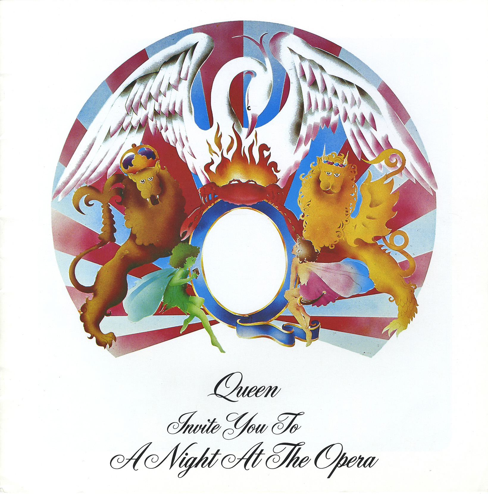A Night At The Opera tour program (USA, Australia)